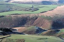 Cow Castle and Picked Stones Iron Mine. 2006  © Exmoor National Park Authority