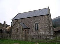 Lynch Chapel, from south  © Exmoor National Park Authority