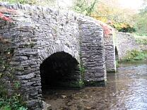 Medieval packhorse bridge at Bury, 2009  © Exmoor National Park Authority