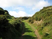 Entrance of Wind Hill from the east, 2009  © Exmoor National Park Authority