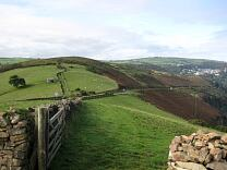 Wind Hill from the east, 2009  © Exmoor National Park Authority