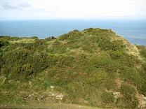 Rampart north of entrance of Wind Hill from the south, 2009  © Exmoor National Park Authority