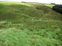 Eastern interior of Cow Castle from the west, 2009  © Exmoor National Park Authority