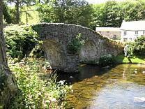 Malmsmead bridge from the northeast, 2009  © Exmoor National Park Authority