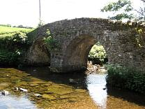 Malmsmead bridge from the northwest, 2009  © Exmoor National Park Authority