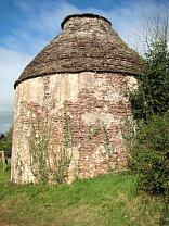Exterior of dovecote from the southeast, 2009  © Exmoor National Park Authority