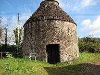 Exterior of dovecote from the southwest, 2009  © Exmoor National Park Authority