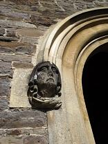 Grotesque in form of medieval head, All Saints Church, Dulverton  © Exmoor National Park Authority