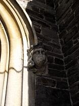 Grotesque in form of medieval King's head, All Saints Church, Dulverton  © Exmoor National Park Authority