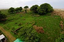 Excavations at Larkbarrow Farm, Spring 2008  © Aerial-Cam