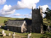 Church of St. John.  © Exmoor National Park Authority
