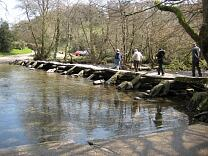 Tarr Steps clapper bridge, 2009  © Exmoor National Park Authority