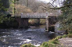 Marsh Bridge, Dulverton (© ENPA 2014)