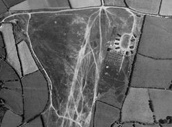 Training camp at Tippacott Ridge, 1946; Historic England (RAF Photography)