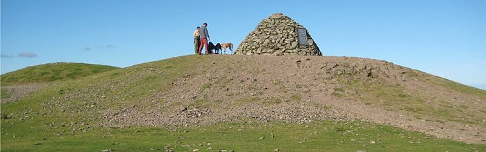 Dunkery Beacon - created from the Devil's spoil? © ENPA 2009